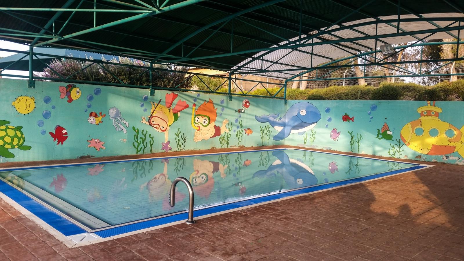 кибуц Ревивим, детский бассейн