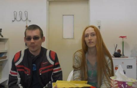 Петровы Дмитрий и Ирина репатриировались по программе «Первый дом на Родине» в декабре 2016 года из Николаева в кибуц Ягур