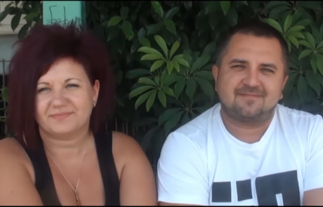 Анна и Роман Петровы репатриировались из Запорожья в рамках программы Первый Дом на Родине в кибуц Бейт-Зера  в Иорданской Долине в Феврале 2013 года