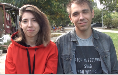 Дмитрий Мухортов и Александра Тыртышная репатриировались с сыном Святославом (4 года) из Самары в кибуц Мааган в августе 2020 года по программе «Первый дом на Родине»