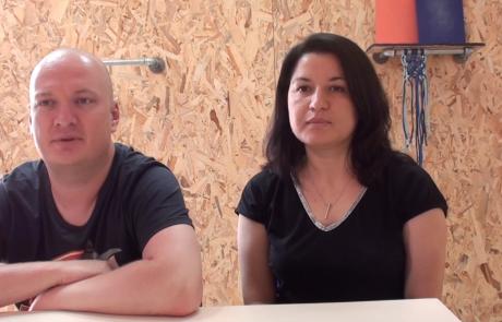 Антон и София Балтер репатриировались с сыном Константином (7 лет) из Москвы в кибуц Цээлим в июле 2020 года по Программе «Первый дом на Родине»