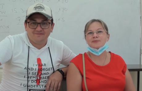 Семья Васильевых репатриировалась из Нижнего Новгорода в кибуц Мерхавия в июле 2020 года по Программе Первый дом на Родине