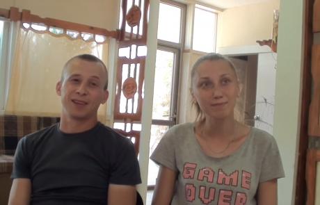 Александр и Ольга Михалевы репатриировались из Гомеля в кибуц Ашдот Яков Меухад в августе 2020 года по Программе «Первый дом на Родине»