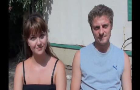 Ольга и Иван Дорошенко репатриировались с дочерью Софией из Казахстана в Мае 2011 года в кибуц Мерхавия