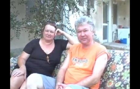 Кибуц Масада,  видеоинтервью, октябрь 2010 г.