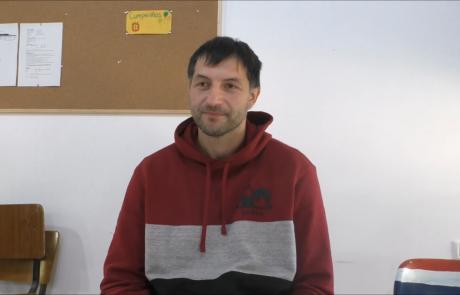 Балабан ДмитрийиАлена репатриировались в ноябре 2018 года по программе «Первый дом на Родине» из Днепропетровска в кибуц Ревивим