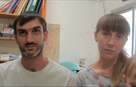 Барановы Яков и Надежда  с дочерью репатриировались в мае 2016 года из Днепра в кибуц Ревивим по программе «Первый дом на Родине»