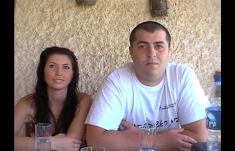 Инна и Олег Бобровы репатриировались с сыном Максимом из Днепропетровска в марте 2011 года в кибуц Машабей Садэ