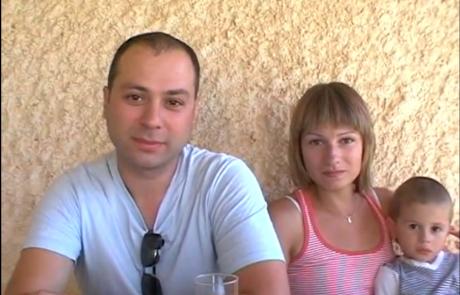 Евгения и Андрей Винник репатриировались с сыном Мишей из Екатеринбурга в марте 2011 года в кибуц Машабей Садэ