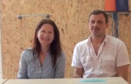Александр и Кристина Гегенава репатриировались из Сочи в кибуц Гвулот в августе 2020 года по Программе «Первый дом на Родине»