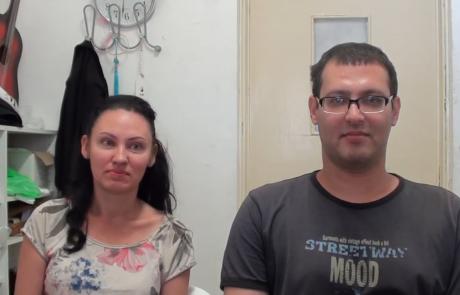 Михаил Зейгер с женой Ксенией репатриировались в январе 2020 года из Самары в кибуц Ягур по программе Первый дом на Родине