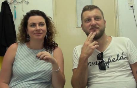 Марковы Родион и Надежда репатриировались из Москвы в декабре 2019 года в кибуц Ягур по программе Первый дом на Родине