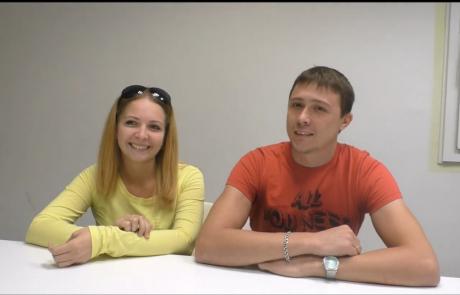 Толстиковы Кирилл и Вероника репатриировались с дочерью Ксенией (4 года) в августе 2018 года из Волгограда в кибуц Хукук по программе Первый дом на Родине