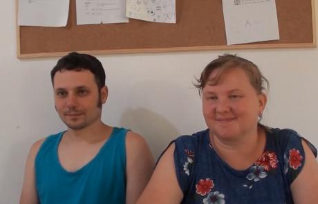 Борис и Оксана Новицкие репатриировались в мае 2019 года  с дочерью Алисой (9 лет) из Уфы в кибуц Машабей Саде по программе Первый дом на Родине
