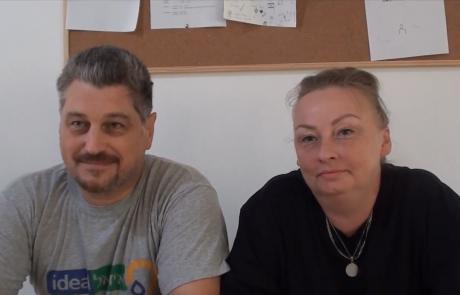 Сергей Волков и Анна Кизарева репатриировались в мае 2019 года из Москвы в кибуц Машабей Саде по программе Первый дом на Родине