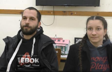 Артур Папикян и Ксения Штабская с детьми репатриировались в ноябре 2018 года по программе «Первый дом на Родине» из Львова в кибуц Мерхавия