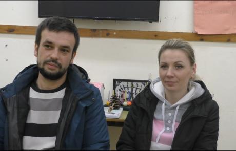 Маевскиие Виталий и Ирина с детьми репатриировались в ноябре 2018 года   по программе «Первый дом на Родине» из Минска в кибуц Мерхавия