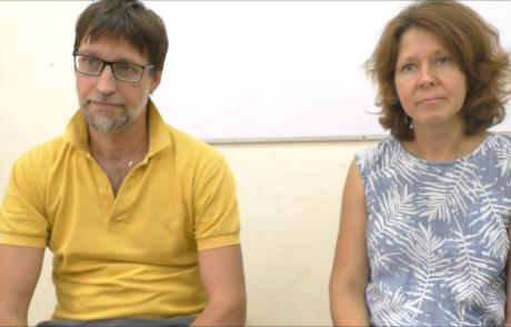 Таскаевы Алексей и Анна репатриировались в августе 2018 года с детьми  по программе «Первый дом на Родине» из Перми в кибуц Мерхавия