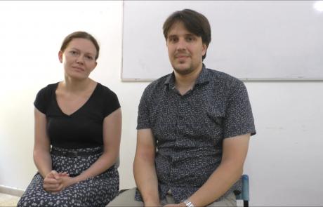 Владимир и Анастасия Чабан с двумя сыновьями репатриировались в мае 2018 года по программе «Первый дом на Родине» из Москвы в кибуц Машабей Саде