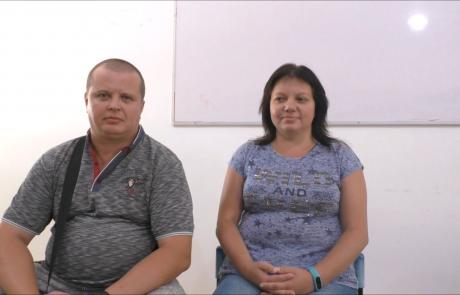 Вендланд Илья и Ирина репатриировались в мае 2018 года по программе «Первый Дом на Родине из Запорожья в кибуц Машабей Саде