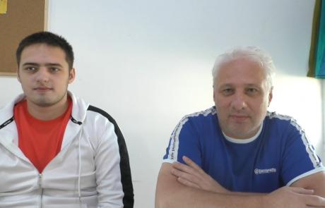 Чесноков Дмитрий с сыном репатриировались в ноябре 2018 года по программе «Первый дом на Родине» из Москвы в кибуц Машабей Саде