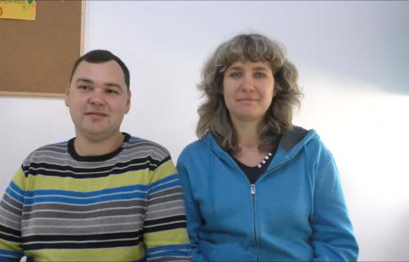 Балабановы Дмитрий и Инна репатриировлись в ноябре 2018 года по программе «Первый дом на Родине» из Мариуполя в кибуц Ревивим