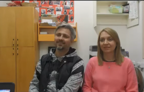 Морозовы Константин и Наталья репатриировались с дочерью Дарьей (15 лет) в ноябре 2017 года по программе «Первый дом на Родине» из Москвы в кибуц Ифтах