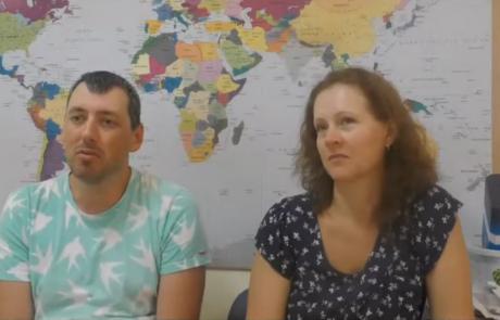 Маламуд Михаил и Диана репатриировались с сыном и дочерью в мае 2017 из Москвы в кибуц Машабей Саде