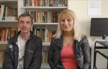 Сергей и Виктория Крамаревы репатриировались по программе «Первый дом на Родине» в феврале 2017 года из Харькова в кибуц Рамат Йоханан
