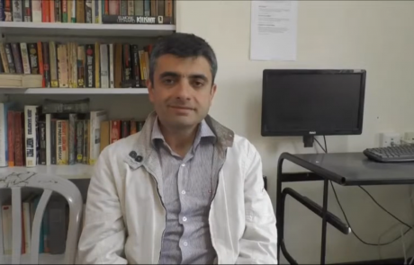 Мисир Ахмедов репатриировался по программе «Первый дом на Родине» в феврале 2017 года из Баку в кибуц Рамат Йоханан