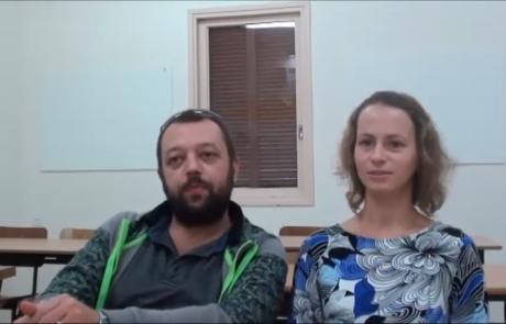Николай Мазаник и Мария Эзерская репатриировались с дочерью Ярославой (3 года) в августе 2016 года из Минска в кибуц Малькия по программе «Первый дом на Родине»
