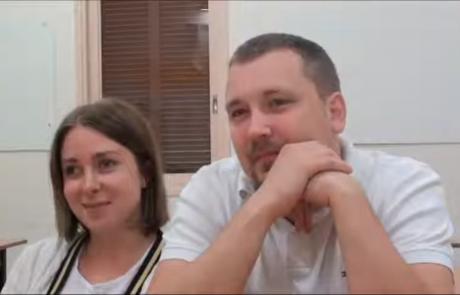 Николай и Наталья Беркович репатриировались с дочерями Марией (5 лет) и Ольгой (полтора года) в сентябре 2016 из Санкт-Петербурга в кибуц Неот Мордехай по программе «Первый дом на Родине»