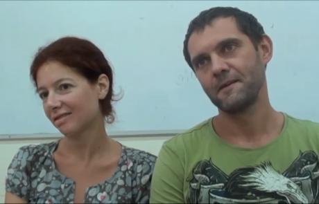 Дяченко Анатолий и Чижевская Яна с сыновьями репатриировались в апреле 2016 года из Херсона в кибуц Мерхавия по программе «Первый дом на Родине»