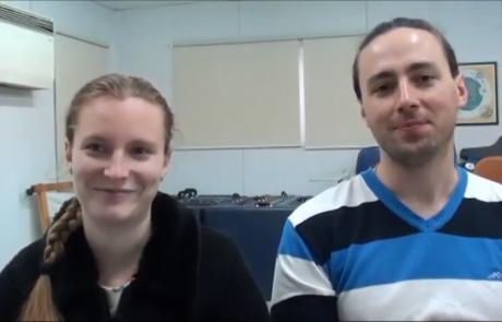 Ткаченко Роман и Александра с дочерью репатриировались в марте 2016 года по программе «Первый дом на Родине» из Харькова в кибуц Хукук