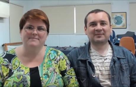 Малыш Дмитрий и Ольга с 2 дочерьми репатриировались в марте 2016 года по программе «Первый дом на Родине» из Иркутска в кибуц Хукук