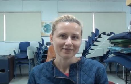 Дубинская Елена с дочерью репатриировалась в марте 2016 года по программе «Первый дом на Родине» из Одессы в кибуц Афиким