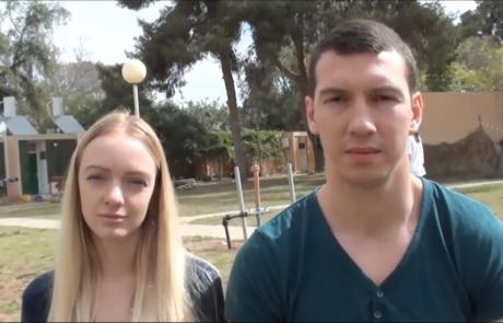 Поляковы Дмитрий и Маргарита   с сыном  репатриировались  в ноябре 2015 года в кибуц Машабей Саде
