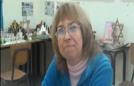 Альбина Валькова, педиатр, репатриировалась из Донецка в Августе 2012 года в кибуц Мерхавия в рамках программы для врачей