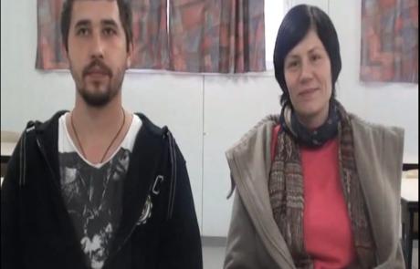 Алевтина и Виктор Ротенберг репатриировались  в августе 2012 года в кибуц Хукук