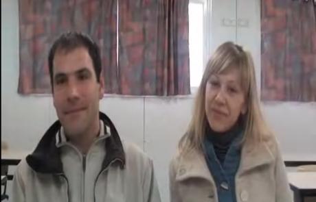 Дмитрий и Юлия Клингер репатриировались в сентябре 2012 года в кибуц Хукук
