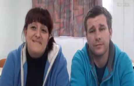 Юрий и Людмила Синкевич репатриировались с двумя дочерьми в августе 2012 года в кибуц Афиким
