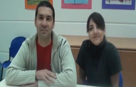 Юрий и Анастасия Рахимовы репатриировались с дочерью Амелией из Ташкента в кибуц Цээлим в августе 2012 года