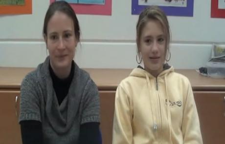Ксения Шуляева репатриировалась с двумя дочерьми из Москвы в августе 2012 года в кибуц Цээлим