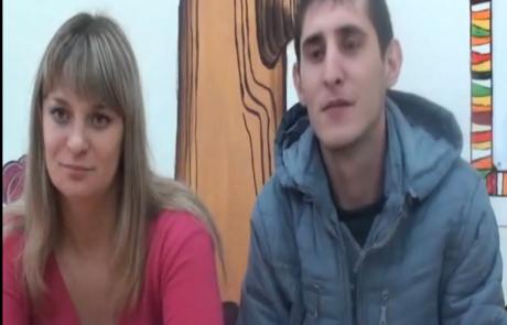 Анна Бовдер и Евгений Резик репатриировались с 4-летним сыном Владиком из Омска в кибуц Мерхавия 16.10.2012 года