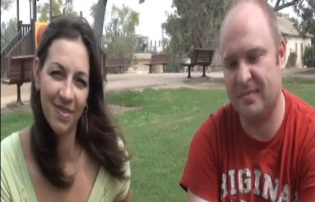 Надежда и Иван Косимовы репатриировались с сыном Алексеем из Черкас в кибуц Ревивим в мае 2012 года.