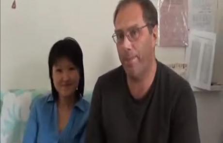 Наталья Мин и Владимир Глушаков репатриировались с дочерью Анной из Москвы в декабре 2011 года