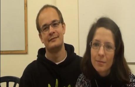Людмила Бойко и Максим Дорогин репатриировались с дочерью Алисой из Новосибирска в Ноябре 2011 года в кибуц Леавот Абашан