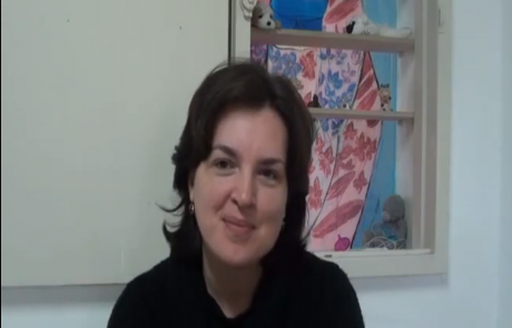 Елена Данилова репатриировалась с тремя детьми в Ноябре 2011 года в кибуц Мерхавия по программе для врачей из СНГ, имеющих более 14 лет стажа