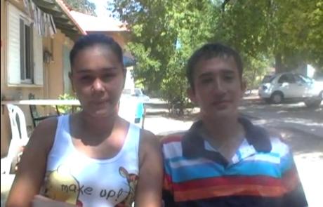 Шахло и Феруз Юдилевич репатриировались с сыном Диором из Ташкента в Мае 2011 года в кибуц Мерхавия