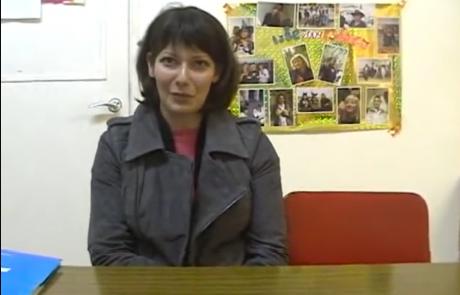 Кибуц Ифтах, февраль 2011, видео интервью #1